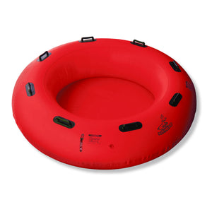 "Airhead-78"" Round River Raft with Padded Floor-"