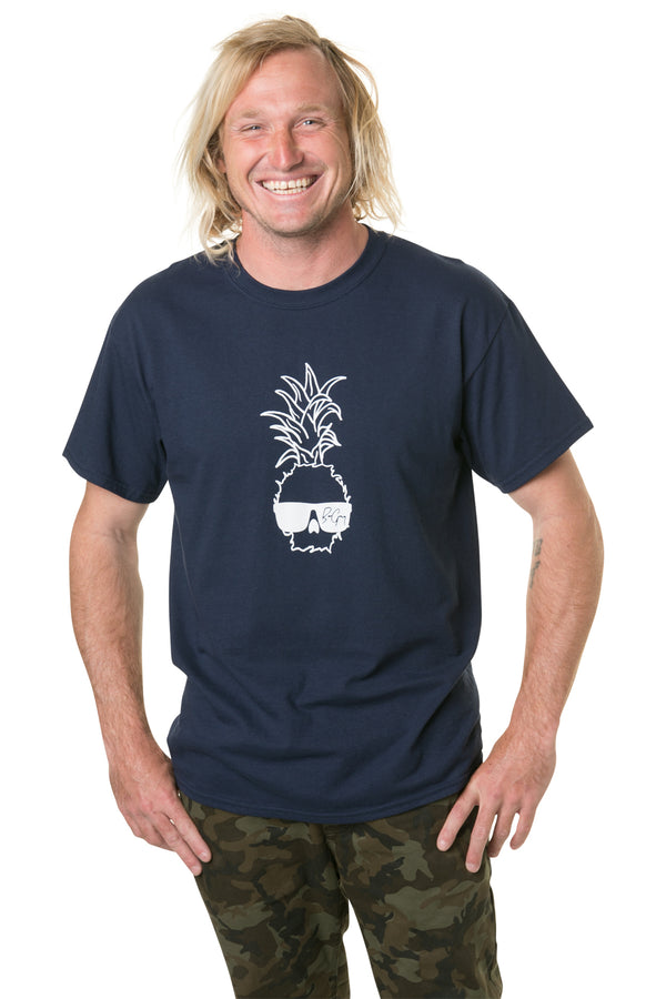 Ben Gravy Big Pineapple S/S Tee - Navy