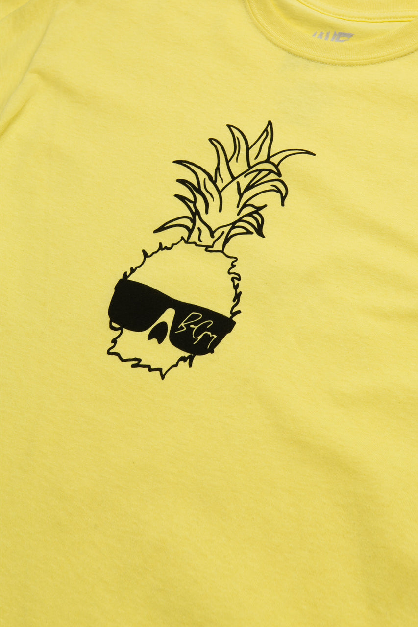 Ben Gravy Big Pineapple S/S Tee - Yellow