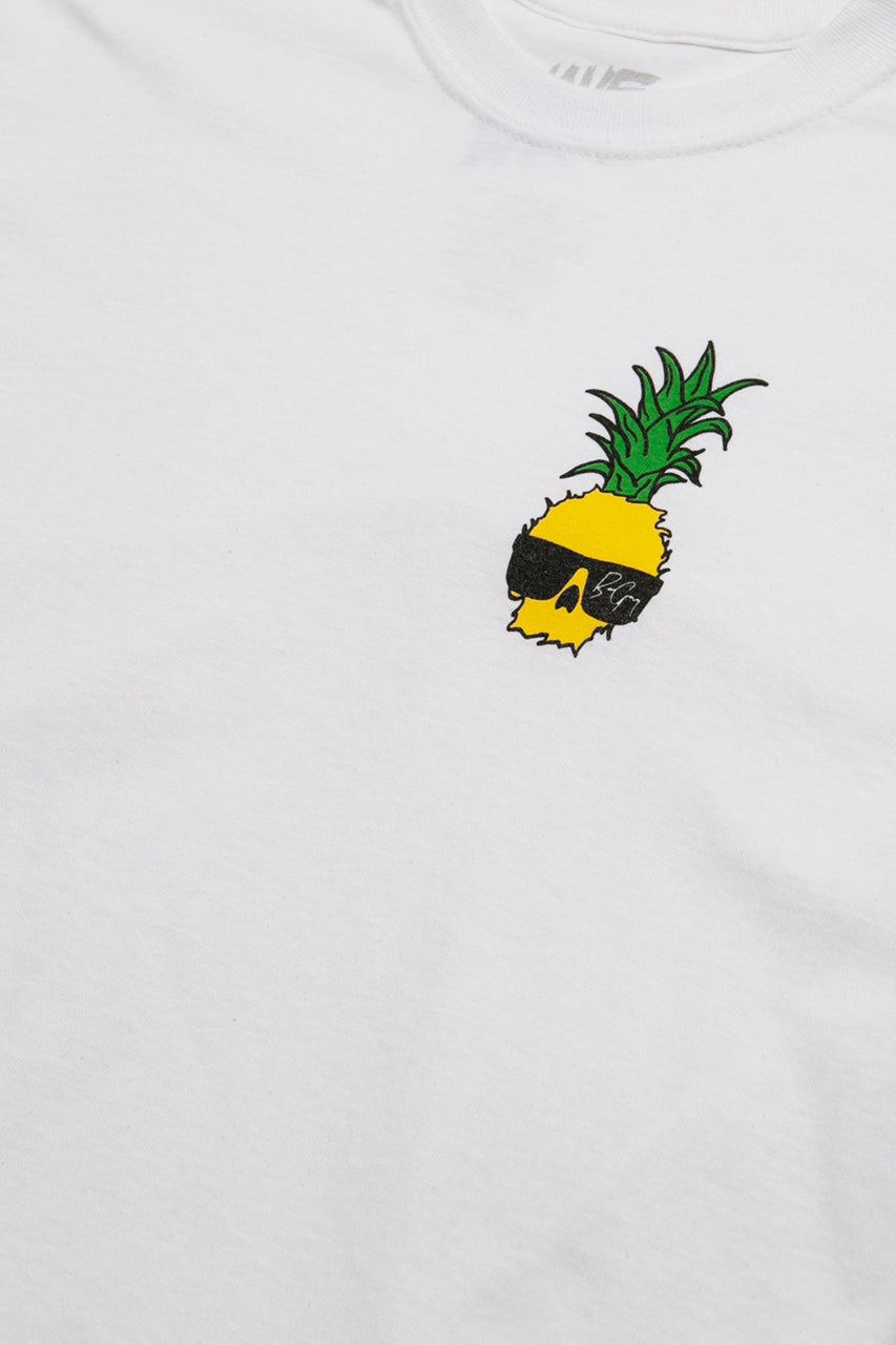 Ben Gravy Pineapple S/S Tee - White