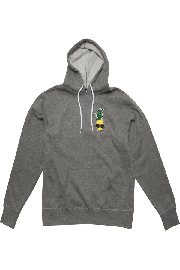 Ben Gravy Pineapple Pullover Hooded Fleece - Heather Grey