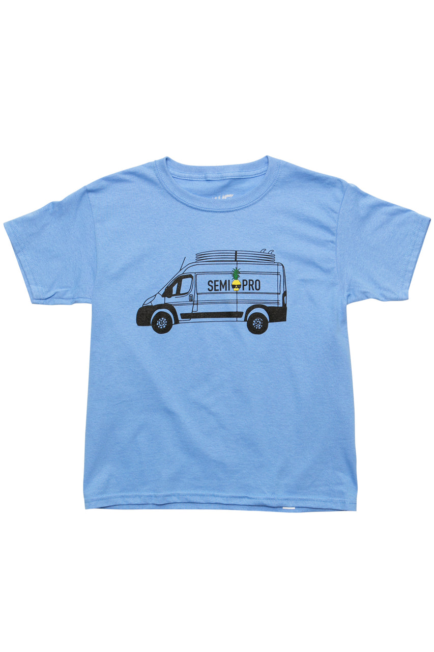 Ben Gravy Youth Van S/S Tee - Baby Blue