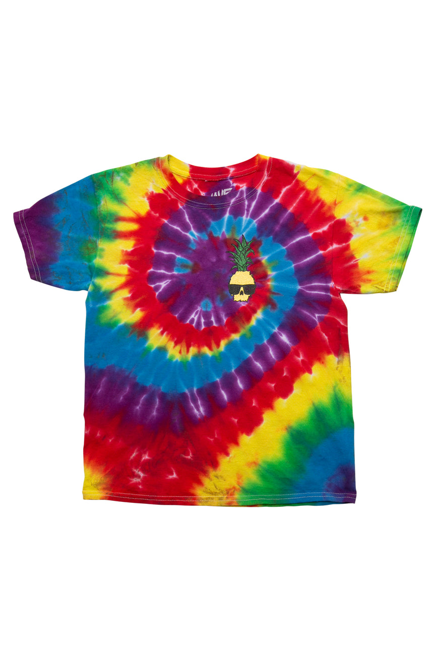 Ben Gravy Youth Tie Dye Pineapple S/S Tee - Multi