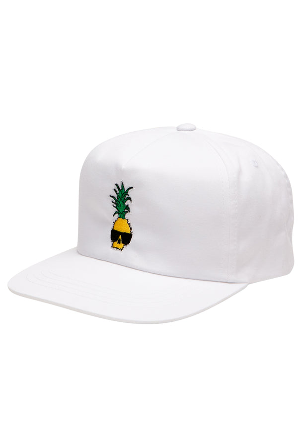 Ben Gravy Pineapple Hat - White