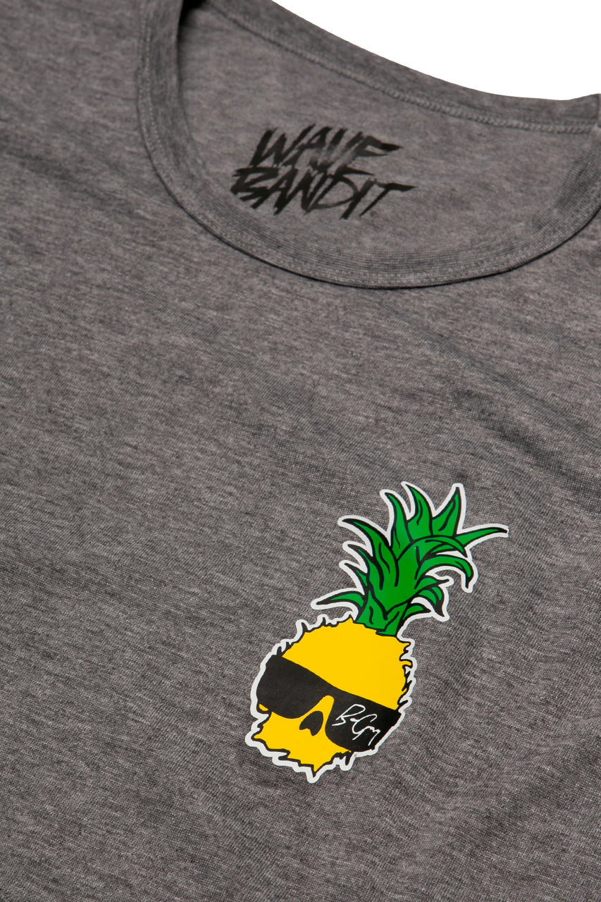Ben Gravy Pineapple Surf Shirt S/S - Heather Grey