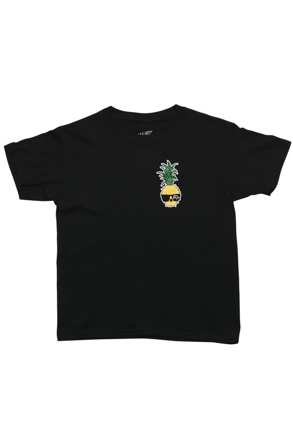 Ben Gravy Youth Pineapple S/S Tee - Black