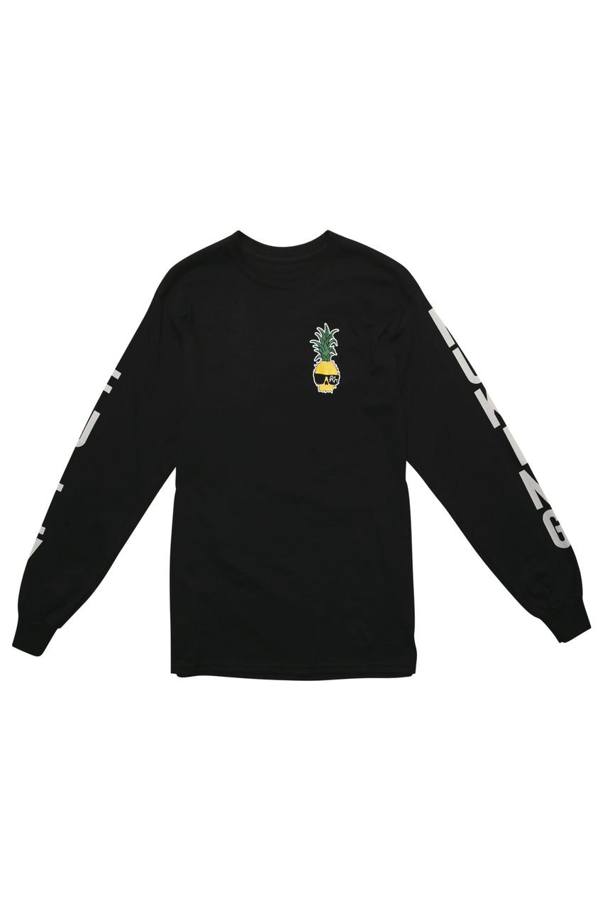 Ben Gravy Fully Nuking L/S Tee - Black