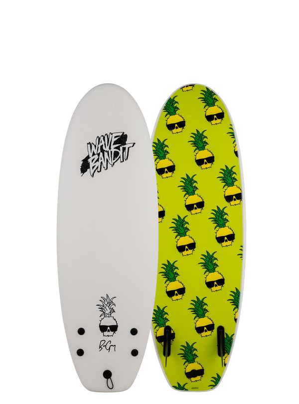 "4'10"" Performer Mini x Ben Gravy (Twin Fin)"