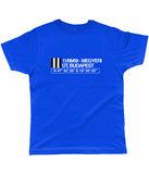 11/06/69 Megyeri út, Budapest Inter-Cities Fairs Cup Winners Classic Cut Jersey Men's T-Shirt