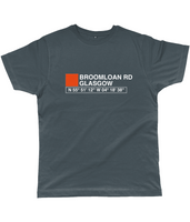 Broomloan Road Glasgow Classic Cut Jersey Men's T-Shirt