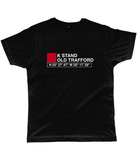K Stand Old Trafford Classic Cut Jersey Men's T-Shirt