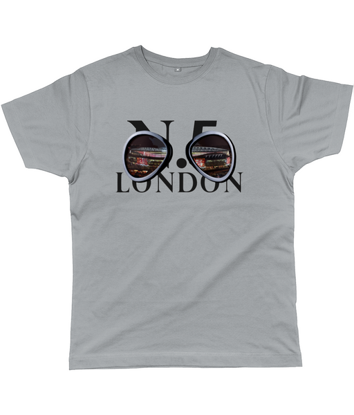 N.5. London Goggles Classic Cut Jersey Men's T-Shirt