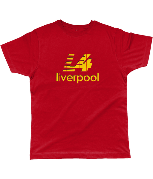 L4 Liverpool Classic Cut Jersey Men's T-Shirt