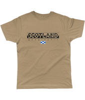 Scotland Geographic  Classic Cut Jersey Men's T-Shirt