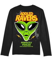 Addled Ravers Space Invaders Pickled Every Weekend Long Sleeve T-Shirt