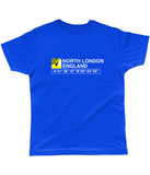 North London England Classic Cut Jersey Men's T-Shirt