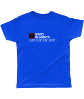 Ibrox Glasgow Classic Cut Jersey Men's T-Shirt