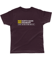 North Bank Highbury Classic Cut Jersey Men's T-Shirt
