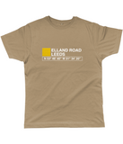 Elland Road Leeds Classic Cut Jersey Men's T-Shirt