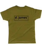 St James' Newcastle Classic Cut Jersey Men's T-Shirt