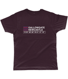 Gallowgate Newcastle Classic Cut Jersey Men's T-Shirt