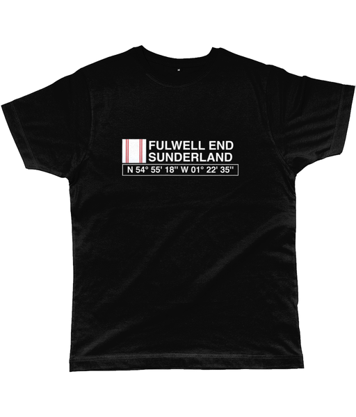 Fulwell End Sunderland Classic Cut Jersey Men's T-Shirt