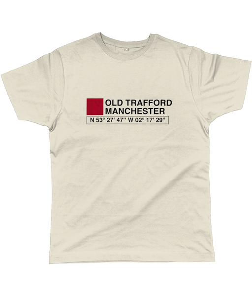 Old Trafford Manchester Classic Cut Jersey Men's T-Shirt