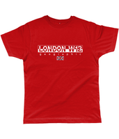 London W12 Geographic Classic Cut Jersey Men's T-Shirt