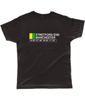 Stretford End Manchester Classic Cut Jersey Men's T-Shirt