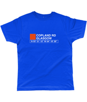 Copland Road Glasgow Classic Cut Jersey Men's T-Shirt
