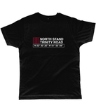 North Stand Trinity Road Classic Cut Jersey Men's T-Shirt