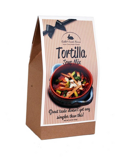 Food gift tortilla soup mix