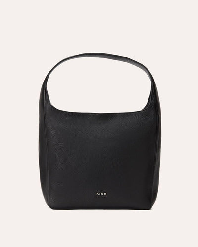Hobo bag (Black)-Kiko Leather