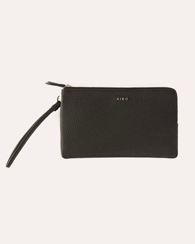 Large wristlet-Kiko Leather
