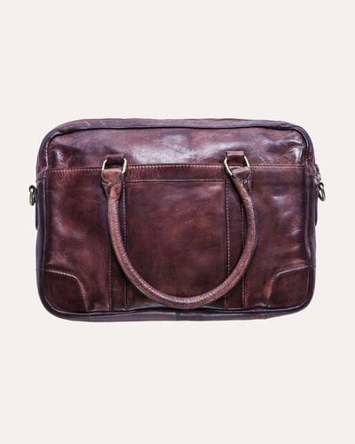 Sleek Briefcase-Kiko Leather