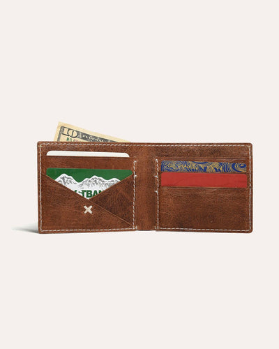 X Bifold wallet-Kiko Leather