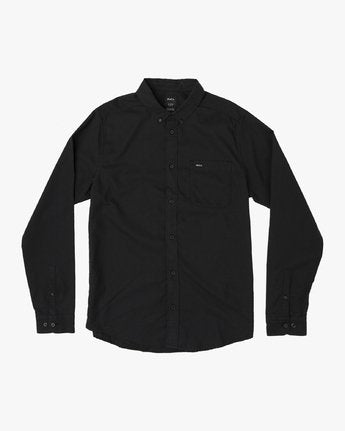 That'll Do Stretch Long Sleeve Shirt-Men's-Black