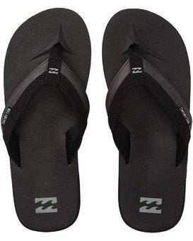 All day Impact flip flops-Black