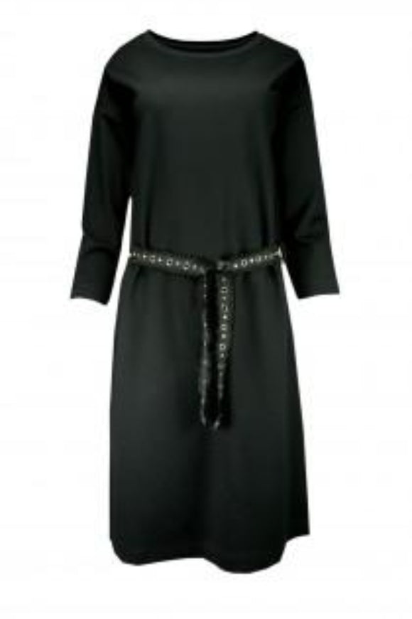 XOX Sweat Kleid black X03184