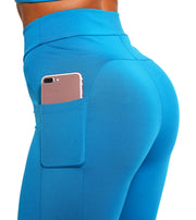 Charging Leggings - Seaport Blue