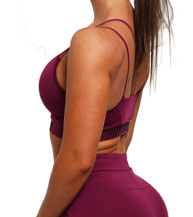 Charging Sports Bra - Purple Potion