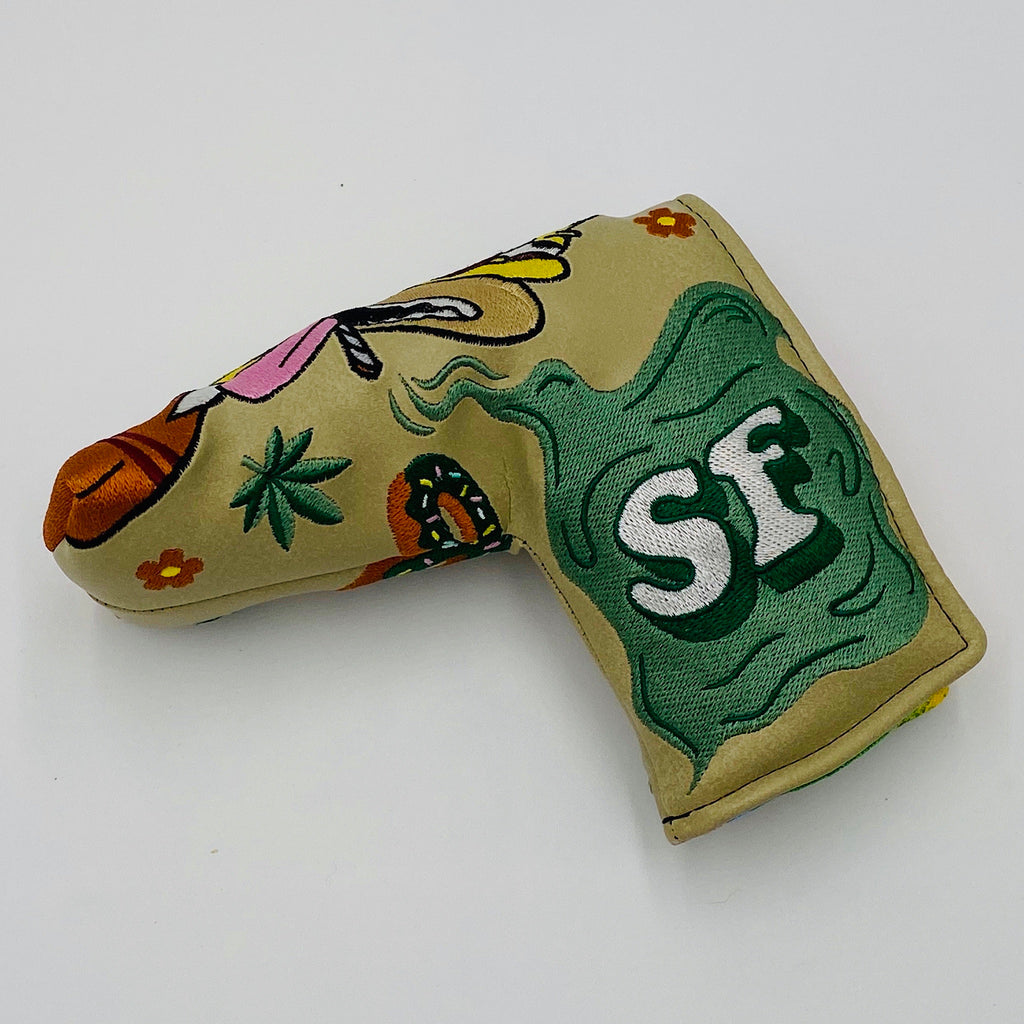 PROTOTYPE Handmade HOMER HIPPIE Putter Headcover