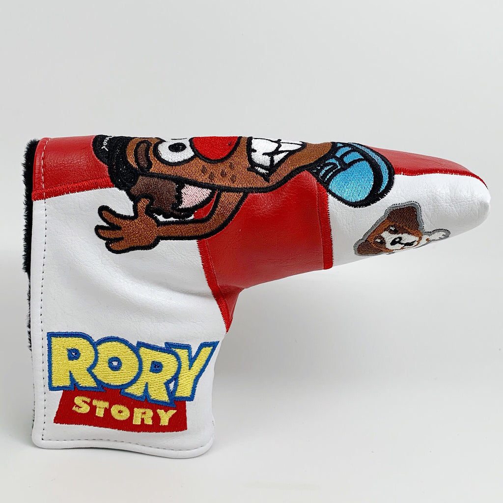 Patrick Gibbons Handmade Rory Story Putter Headcover