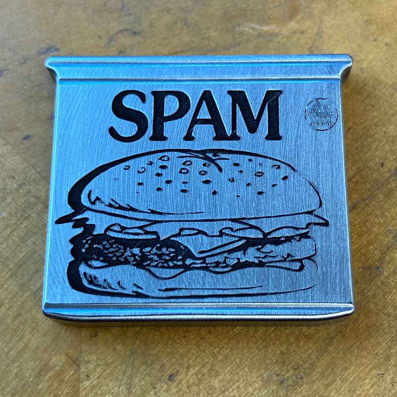 Handmade SPAM Can Limited Edition Ball Marker