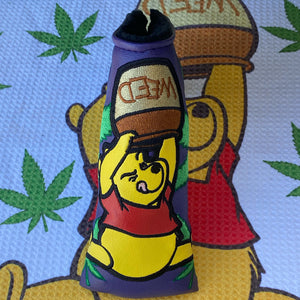 PROTOTYPE Handmade 4/20 Pooh Bear Putter Headcover