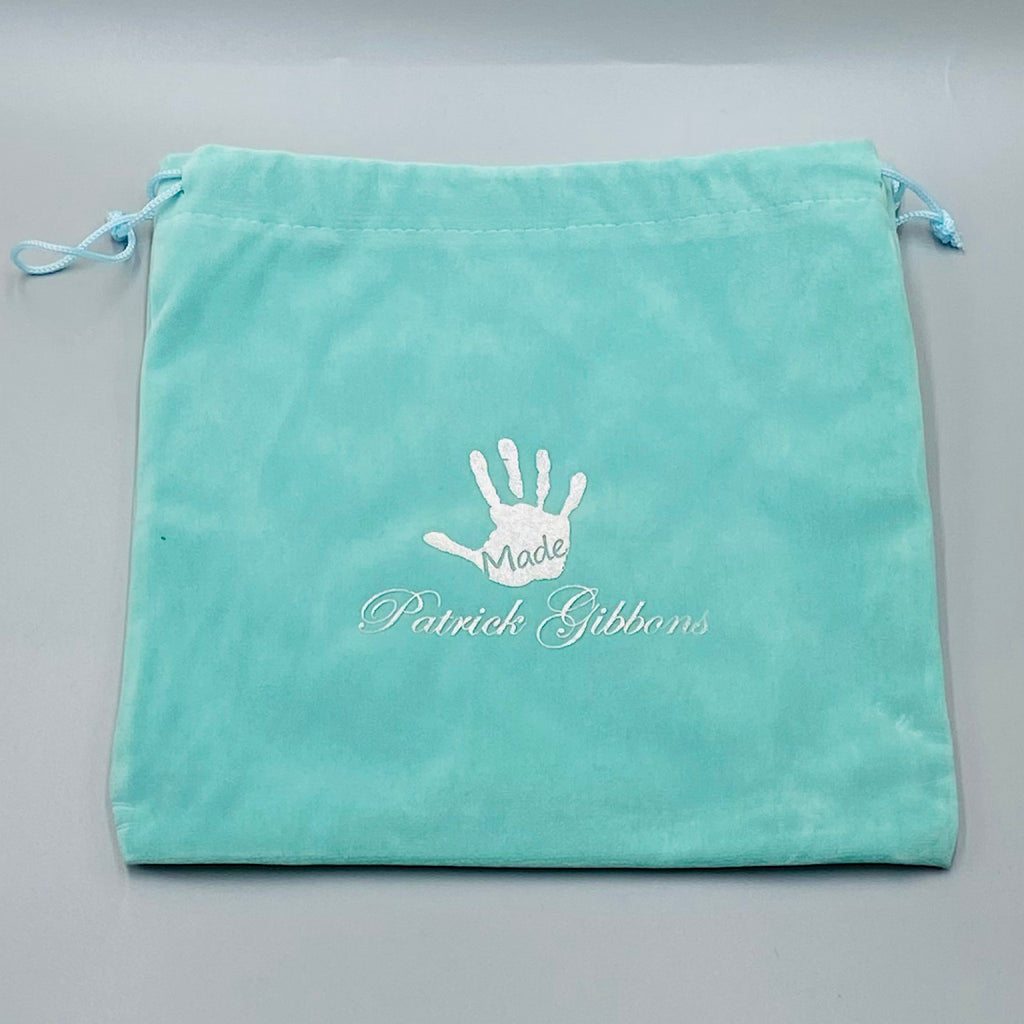 Handmade Putter Cover Drawstring Bag - Tiffany Blue