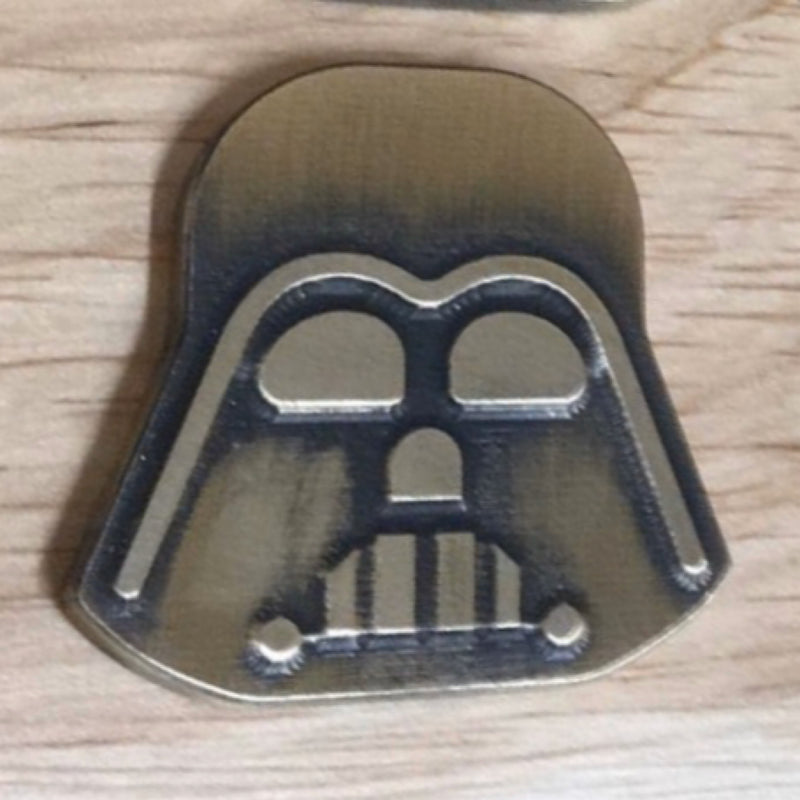 Patrick Gibbons Vader Blackened Brass Ball Marker