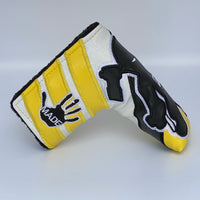 GOLF WRX / HANDMADE NINJA HEADCOVER - YELLOW