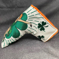 Handmade LADY LUCK St. Patrick's Day 2020 Putter Headcover - 50 Made