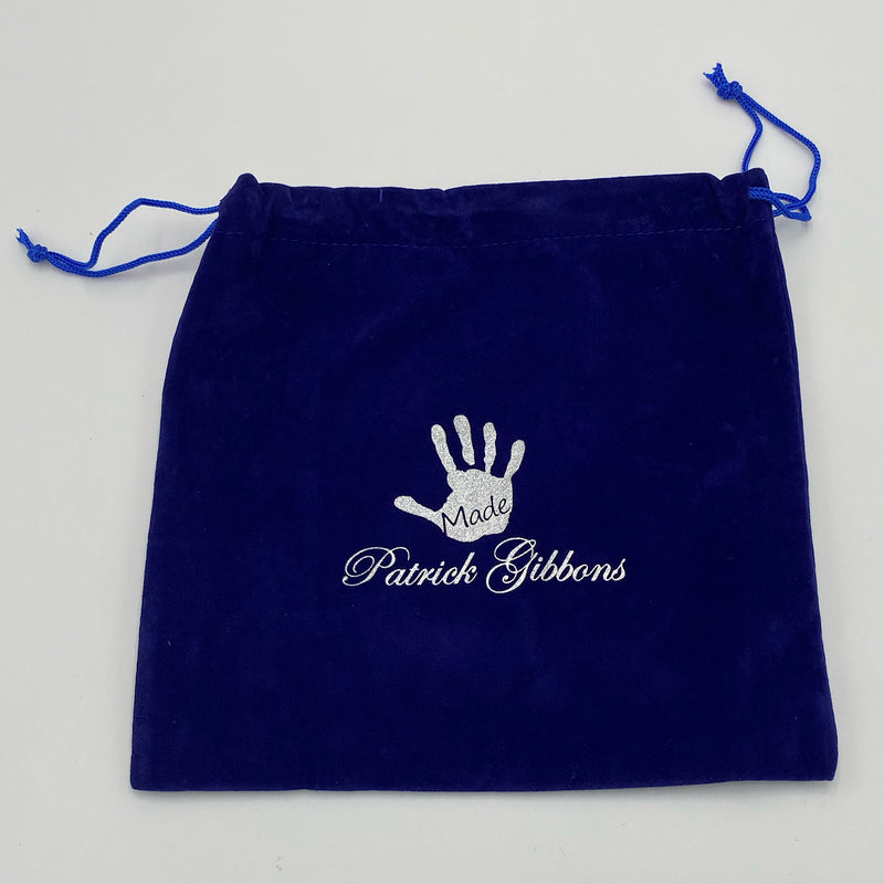 Handmade Putter Cover Drawstring Bags - Blue